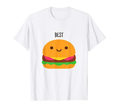 Funny Best Friends Matching Hamburger & French Fries Shirt -