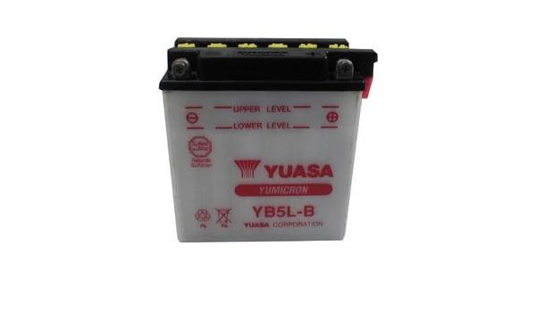 JMT ácido de batería yb9l-a2 MZ//MUZ RT 125 2006 15 CV