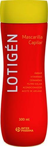 Lotigen Mascarilla - 2 Recipientes de 300 ml - Total: 600 ml: Amazon.es: Belleza