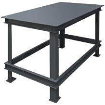 "Durham Steel Extra Heavy Duty Machine Table, HWBMT-367230-95,  1 Shelves,  14000 lbs Capacity,  36"" Length x 72"" Width x 30"" Height"