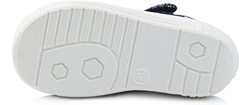 Ladeheid Kinder Hausschuhe LARW004 Marineblau/ Weiß/Punkte