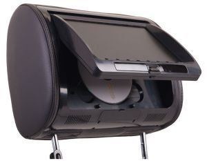 Universal Replacement Headrest Preloaded w/DVD Player & 9