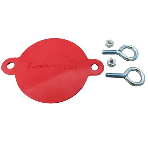 2 1/2'' Aluminum Fire Department Connection (FDC) Breakable Cap (2 Pack) by FireHoseDirect