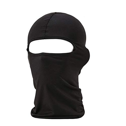 Radient Men Fashion Elastic Balaclava Mesh Mouth Mask Outdoor Cold Weather Face Mask Neck Warmer Men's Skullies & Beanies