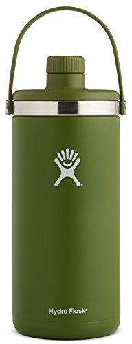 Hydro Flask 128 oz Oasis Water Jug - Stainless Steel & Vacuum Insulated - Leak Proof Cap - Olive