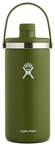 Hydro Flask 128 oz Oasis Water Jug - Stainless Steel & Vacuum Insulated - Leak Proof Cap - Olive (Hydro Flask Stainless Steel Insulated Drinking Bottle)