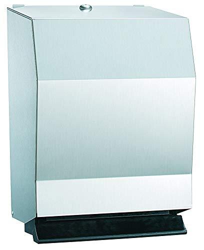 Bradley 2482-1100 ROLL PAPER TOWEL DISPENSER SURFACE MOUNT-PUSH -