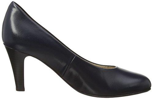 Gabor Schoenen 5.21 Damen Geschlossen Pompen Blauw (donker Blauw Leer)