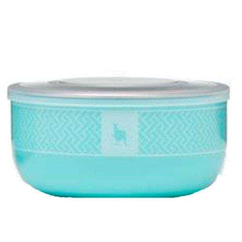 UPC 855894004104, Kangovou Stainless Steel Snack Bowl (Iced Mint)