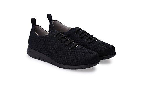 De Cómodas Coolmax Calzado Marca Color Forro Confort Oneflex Negro Mujer Zapatillas Antideslizante Y Liviano wBXPdxWAq