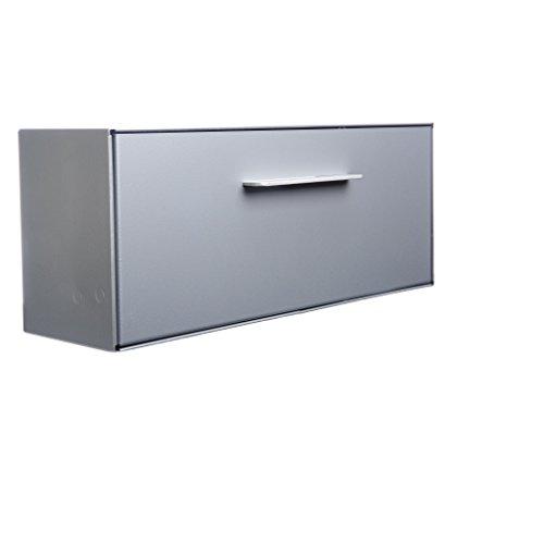 Mount Mailbox Design Wall (Modern Mailbox | Wall Mounted modbox (Silver))