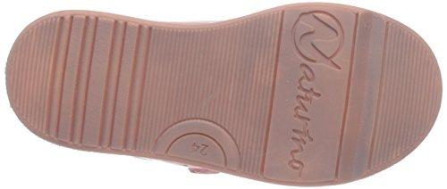 Naturino 5260 VL, Zapatillas Para Niñas Pink (Rosa-Bianco 9107)