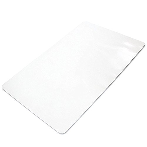 Office Chair Mat for Hard Floors 59 x 47 - Clear Hardwood Mat for Desk -