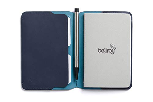 Bellroy Leather Notebook Cover Mini Blue Steel by Bellroy (Image #2)