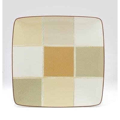 Noritake Mocha Java Square Accent Plate by Noritake