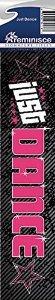 Reminisce Signature Series Just Dance Scrapbook Title Sticker ()