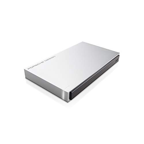 LaCie Porsche Design USB 3.0 1TB Mobile Hard Drive + 2mo Adobe CC Photography (STET1000400)