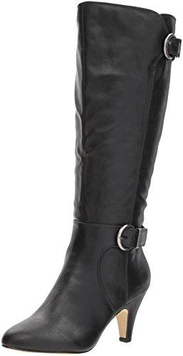 Bella Vita Women's Toni Ii Plus Harness Boot, Black, 8.5 W US