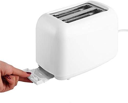 Elektrischer Brotbackautomat Toaster Home Multifunktionsautomatik-Frühstücksmaschine Küchenwerkzeug Weiß