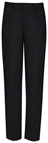 CLASSROOM Juniors Low Rose Flare Leg Pant, Black, 7/8