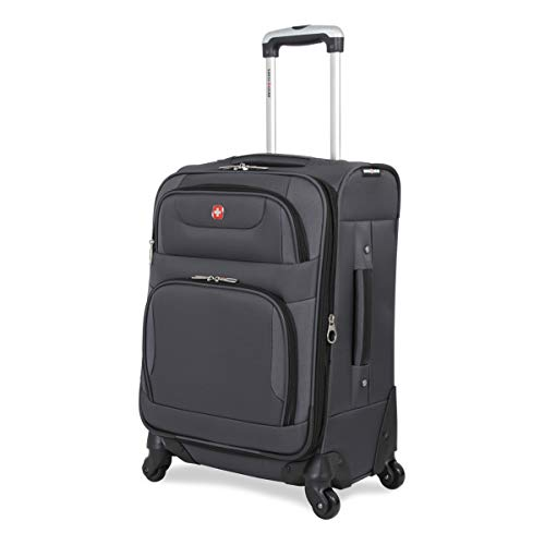 - SwissGear Spinner Luggage Collection Gray 20
