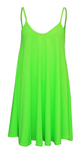 neon green dress - 1