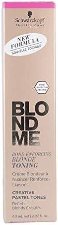 Schwarzkopf Blondme Toning (T) Ice-Irise 60 ml, Estándar ...