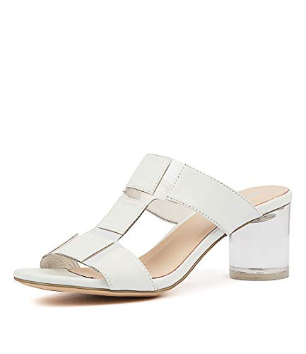 Womens SIDDIE CLEAR VINYLIT WHITE Shoes LEATHER JULIETTE DJANGO Womens Heels amp; g1wtpt