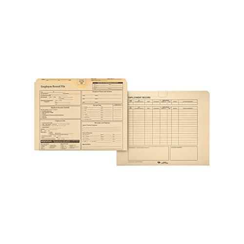 ark Employee Record Folder - 20 pk. - Pack of 1 - Bulk Disc ()