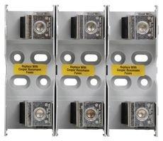 JM60200-3CR-Fuseholder, Fuse Block, 600V, 200A, Class J, Box Lugs, 3 Pole