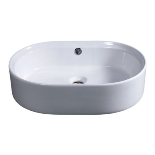 (EAGO BA132 22-Inch  Oval Ceramic Above Mount)