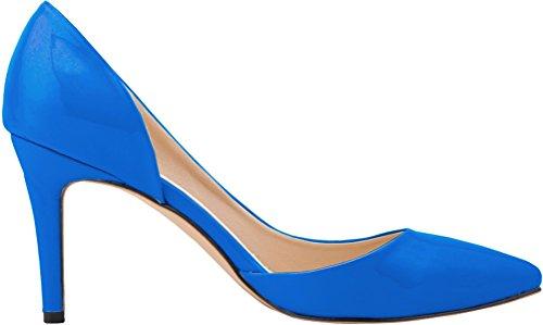 CFP - Sandalias con cuña mujer azul celeste