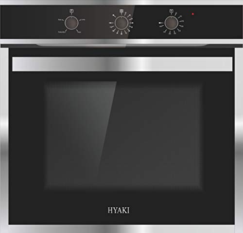 "24"" Hyaki HYK-24WOX03-01 Stainless Steel Built in Electric Single Wall Oven 220V Designed for Modern Kitchen"