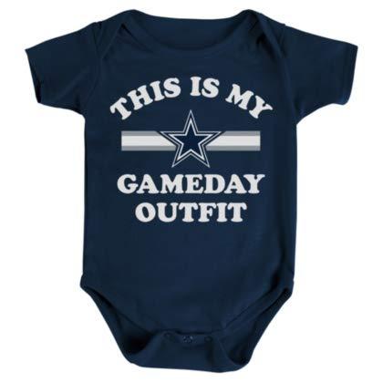 c2c3d1c76 Amazon.com : Dallas Cowboys Infant Gameday Outfit Onesie : Clothing