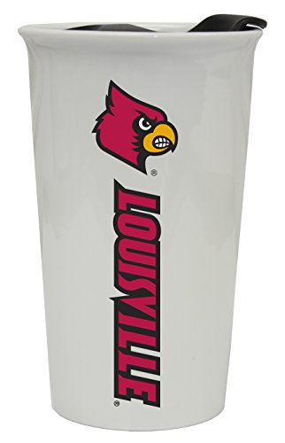 - Louisville Cardinals Double Walled Ceramic Tumbler