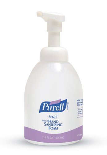 Hand Sanitizer 18 Oz Pump (Purell Alcohol-Free Foam Hand Sanitizer Pump Bottle, 18 oz)