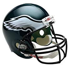 Philadelphia Eagles, a Unique Eagles Helmet Replica Helmet, Home Decor
