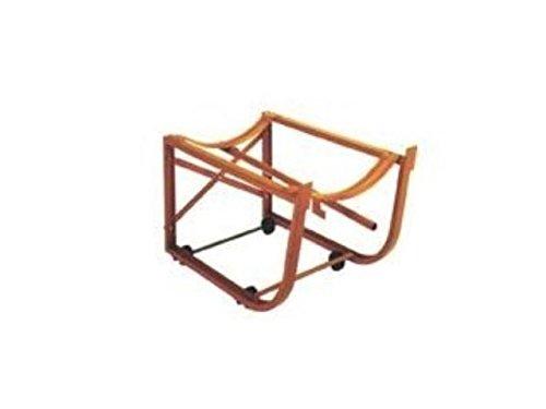 Wesco CW-10 Drum Cradle w/ Inboard Hard Wheels 600# Cap