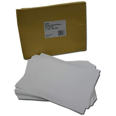 Digital Science Transport Cleaning Sheets - Cleaning Sheets (Pack of 50) by Kodak Scanners