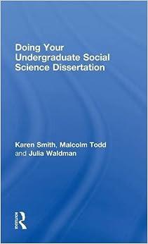 Social science dissertation