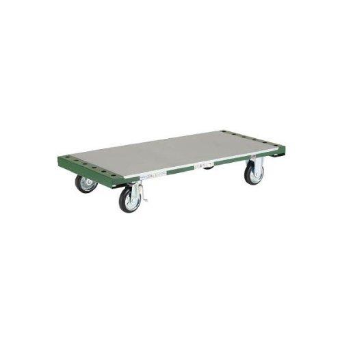【メーカー直送】TRUSCO 長尺用運搬車 平台車型 1300X602 TDPT250-8000 【3365417】  B002A5VSKE