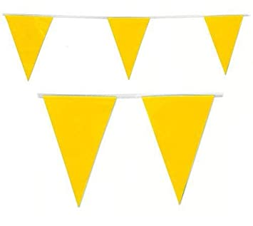 20 FLAGS COLOUR BUNTING FLAGS PENNANTS PARTY DECORATIONS PARTIES FLAG 10m Baby Blue