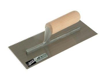 Cutting Edge Notched Trowel - V Serration [Pike & Co® Branded]- Min 3yr Warranty Pike & Co.®