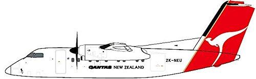 Qantas Dash (Qantas New Zealand DASH 8-100 ZK-NEU (1:200);)