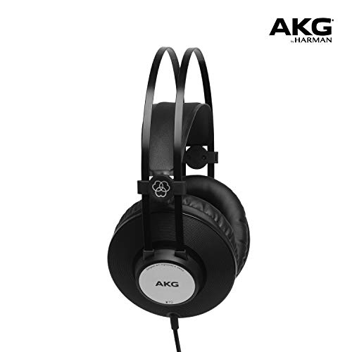 AKG Pro Audio AKG K72 CLOSED-BACK STUDIO HEADPHONES, Black, standart