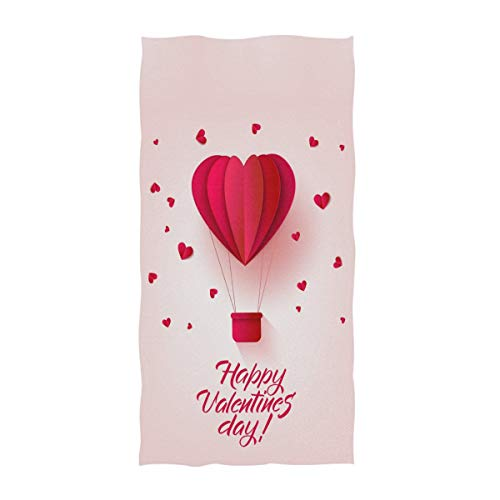 Naanle Happy Saint Valentine's Day Hot Air Balloon