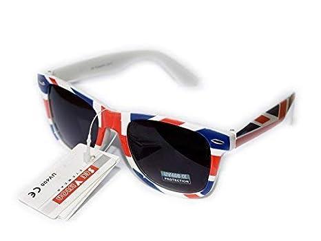 Bandiera Inglese Sunglasses Uomo Occhiali Sole Rettangolari Donna Da NwPX0k8nO