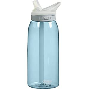 CamelBak Eddy Water Bottle, Sky Blue, 1-Liter
