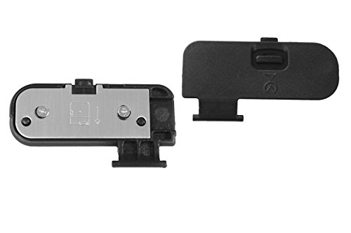 Digital Camera Battery Door Cover Cap Lid Chamber Replacement For Repair Nikon D3200 D3300 D5200 D5300 by ()