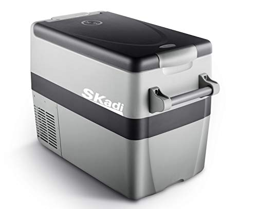Skadi 42 Quart DC12V 24V AC 110V Portable car Fridge Freezer with Both Refrigerator Zone and Freezer Zone - Wagon Refrigerator